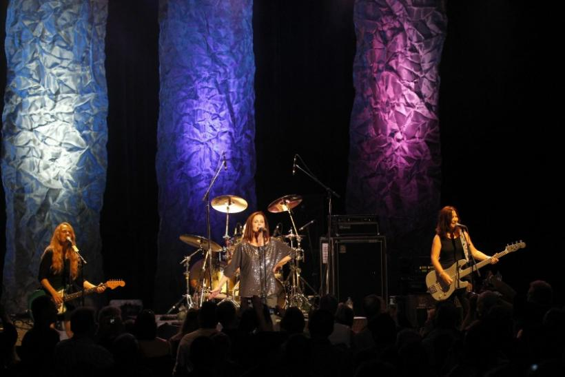 American rock band The Go-Go's performs at the Greek theatre in Los Angeles