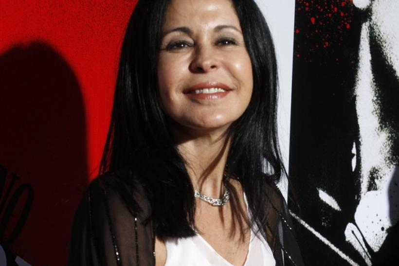 "Actress Maria Conchita Alonso arrives at the Blu-ray disc launch party for the 1983 classic film ""Scarface"" in Los Angeles, California"