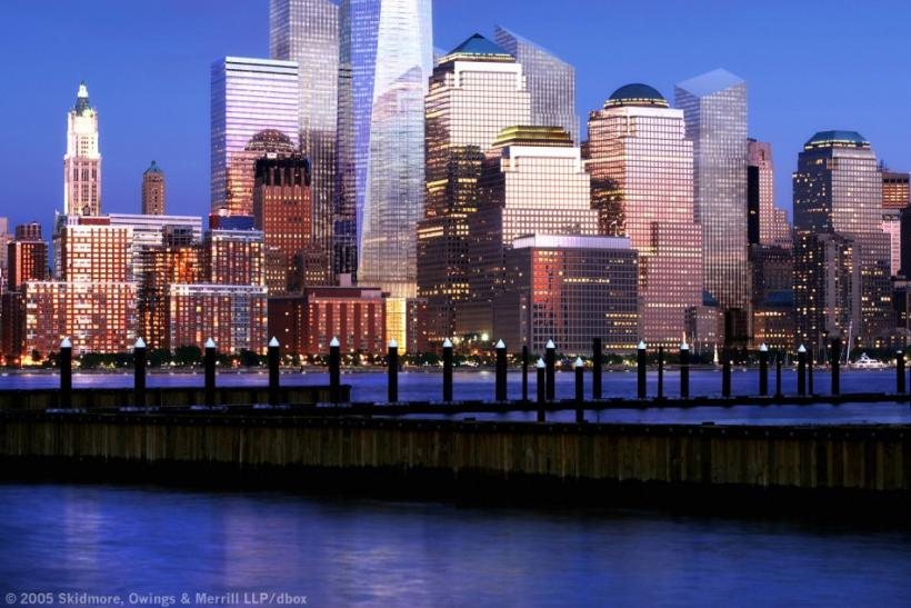 Rebuilding the World Trade Center in New York