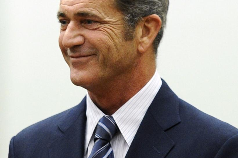 Actor Mel Gibson attends a hearing in Los Angeles Superior Court to finalize financial issues in a custody battle with former girlfriend Oksana Grigorieva In Los Angeles