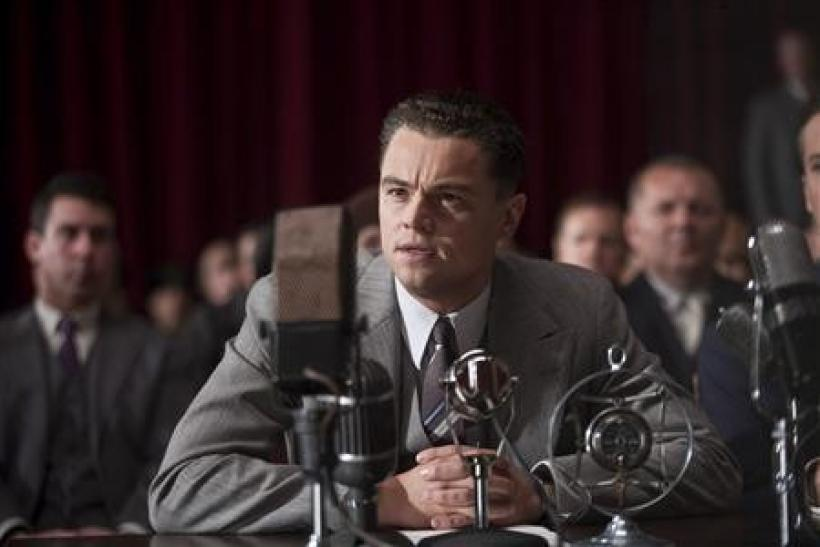 """Actor Leonardo DicCaprio is shown in a scene from the film """"J. Edgar"""""""