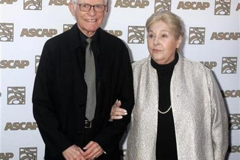 Alan and Marilyn Bergman at the 26th annual ASCAP Pop Music Awards in Hollywood