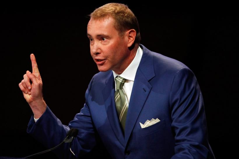 Jeffrey Gundlach co-founder and Chief Executive Officer and Chief Investment Officer of DoubleLine speaks at the 16th annual Sohn Investment Conference in New York