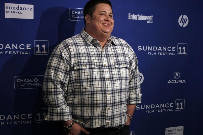 "Cast member Chaz Bono poses for the media before the screening of the film ""Becoming Chaz"" during Sundance Film Festival in Park City"