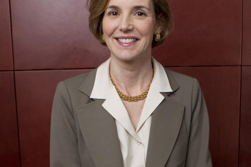 Sallie Krawcheck, president of Global Wealth & Investment Management for Bank of America poses for a portrait in New York