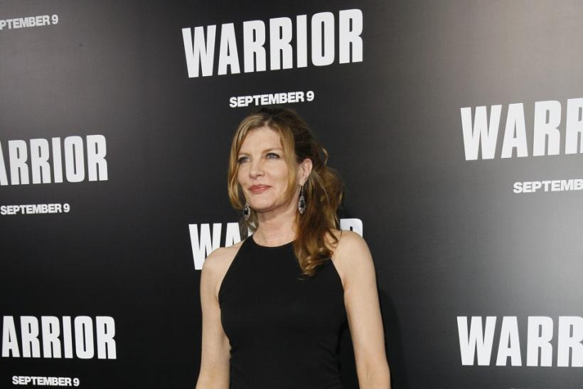 """Actress Rene Russo arrives at the film premiere of """"Warrior"""" in Hollywood, California"""