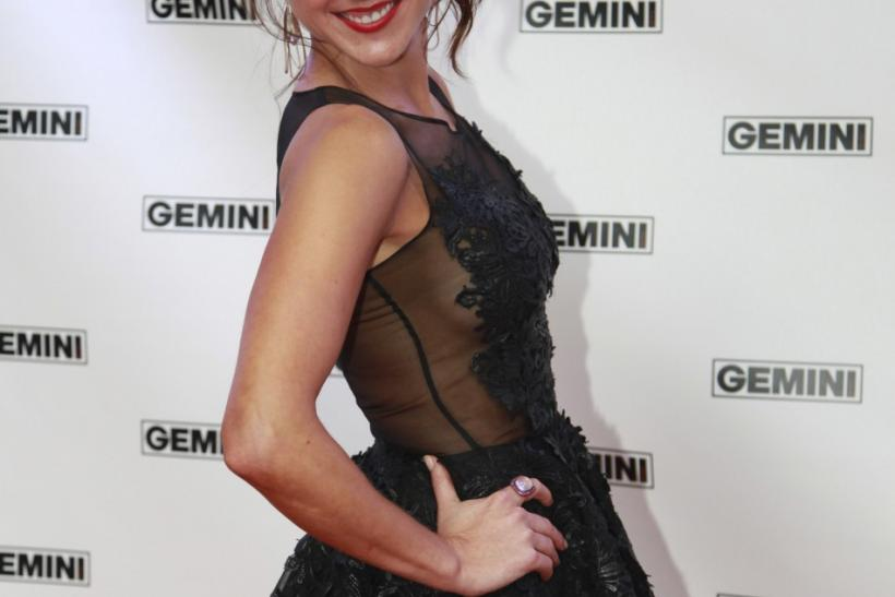 Red-Carpet Arrivals at the 26th Gemini Awards in Toronto.