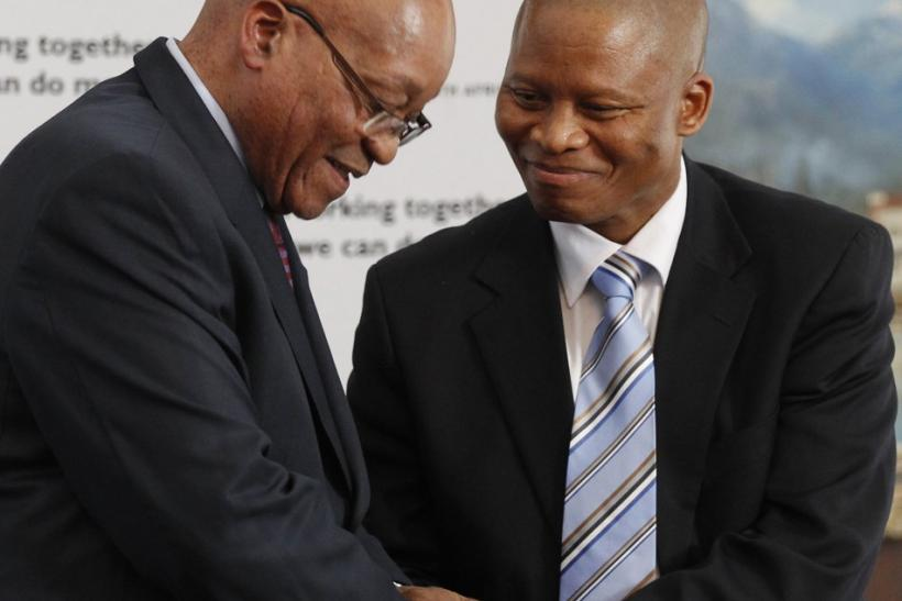 Zuma and Mogoeng