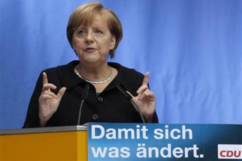 1. Angela Merkel : German Chancellor and head of the Christian Democratic Union (CDU) party