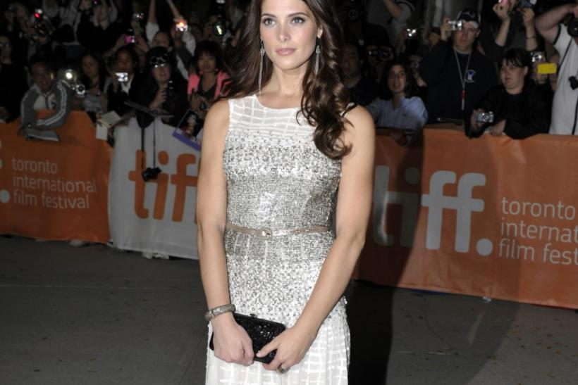 "Cast member Ashley Greene poses at the gala presentation for the film ""Butter"" at the 36th Toronto International Film Festival"