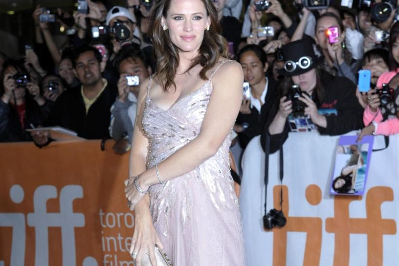 "Cast member Jennifer Garner poses at the gala presentation for the film ""Butter"" at the 36th Toronto International Film Festival"