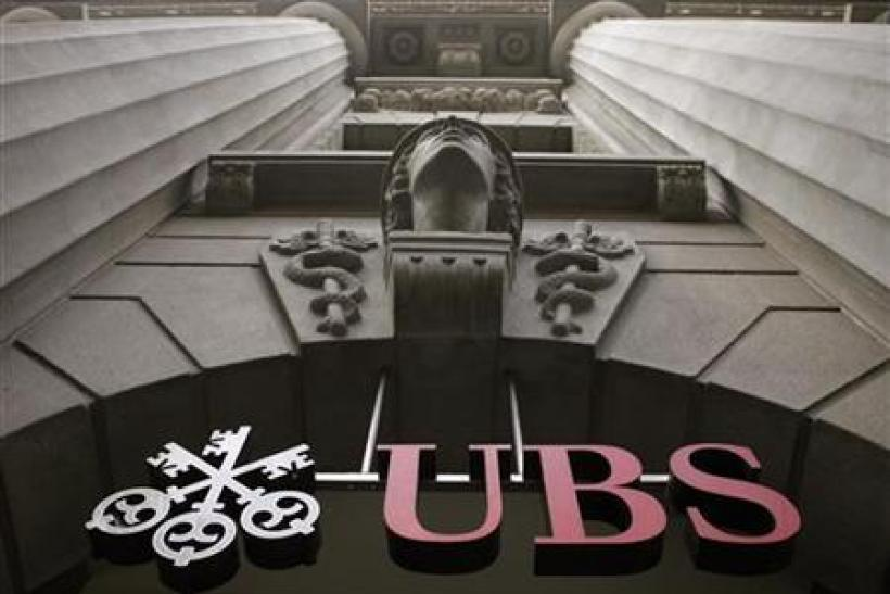 To match Special Report BANKS/UBS