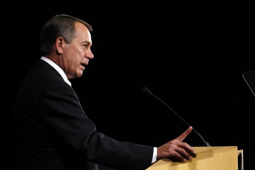 John Boehner Economic Club Speech
