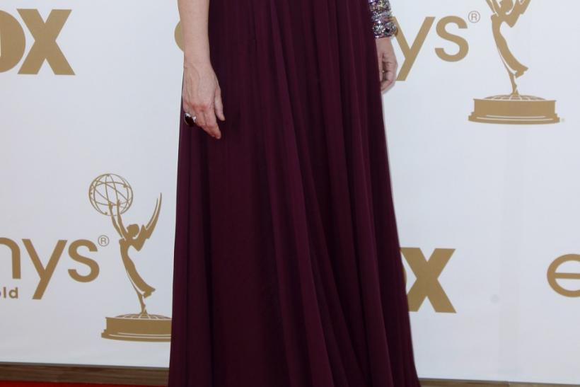 Actress and Emmy Awards host Jane Lynch at arrives at the 63rd Primetime Emmy Awards in Los Angeles September 18, 2011.