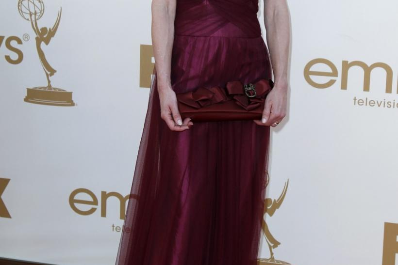 Actress Elizabeth McGovern arrives at the 63rd Primetime Emmy Awards in Los Angeles September 18, 2011.