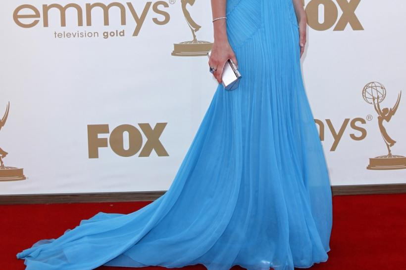 "Actress Cobie Smulders from ""How I Met Your Mother"" arrives at the 63rd Primetime Emmy Awards in Los Angeles"