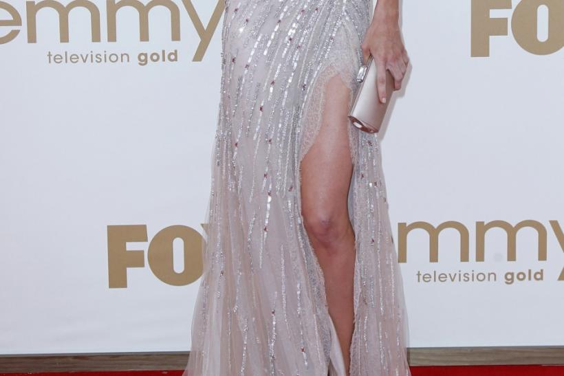 "Actress Jennifer Carpenter from ""Dexter"" arrives at the 63rd Primetime Emmy Awards in Los Angeles"