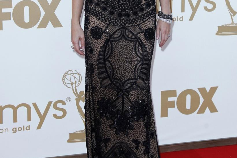 Actress Gwyneth Paltrow arrives at the 63rd Primetime Emmy Awards in Los Angeles