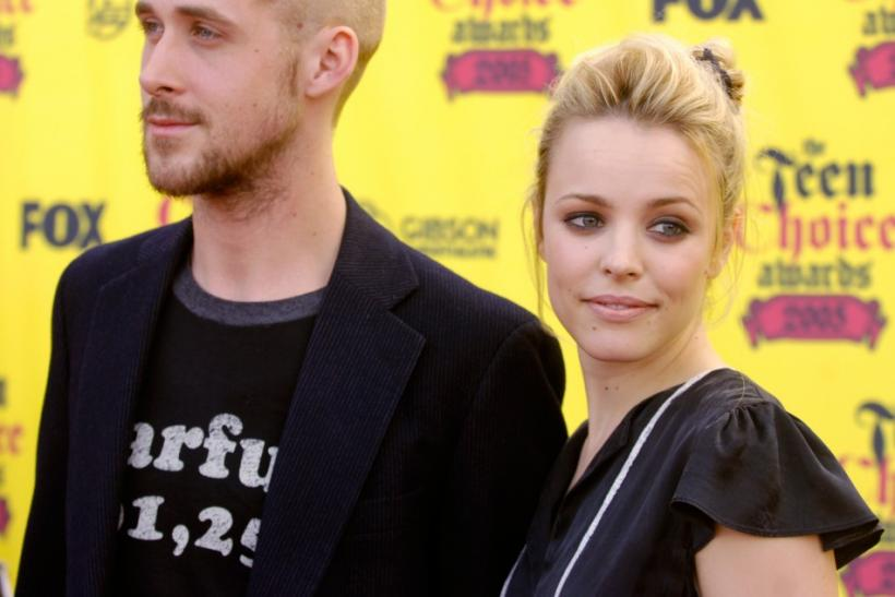 Actors Ryan Gosling and Rachel McAdams arrive together at the 2005 Teen Choice Awards in Universal City.