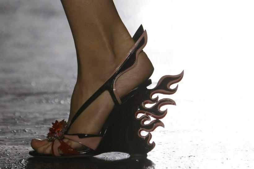 Unique Footwear Trends at the 2011 Milan Fashion Show.