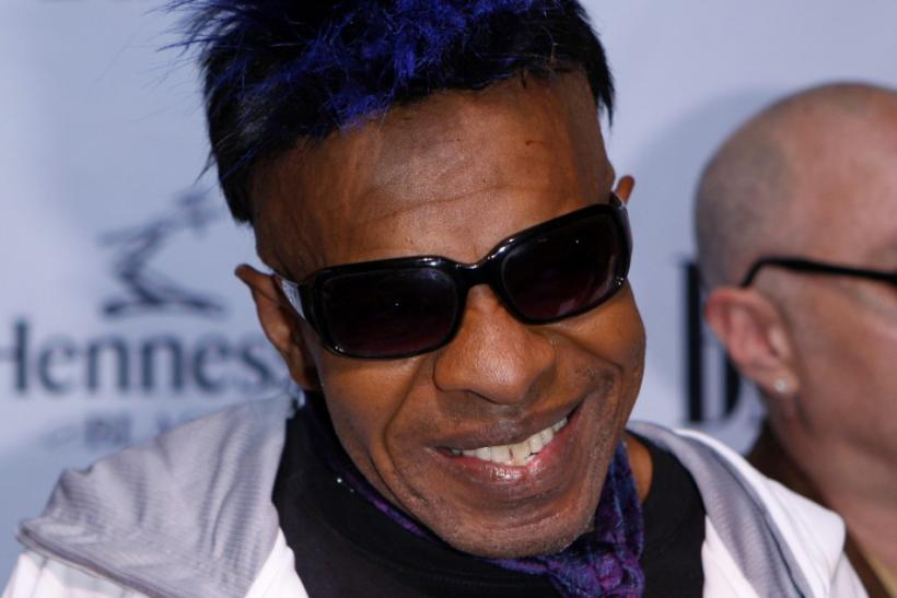 Sly Stone arrives at the BMI Urban Music Awards in New York, September 10, 2009.
