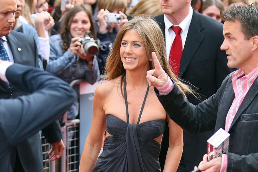 "Actress Aniston arrives for the British premiere of ""The Break Up"" in London"