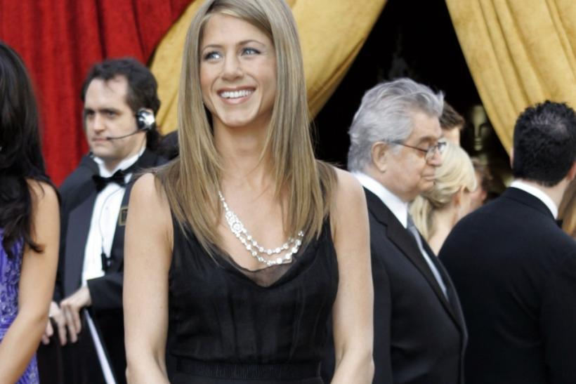 Jennifer Aniston arrives for the 78th annual Academy Awards in Hollywood