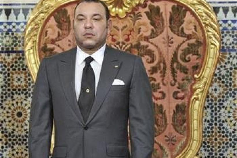 """Morocco""""s King Mohammed prepares to address the nation in Rabat"""