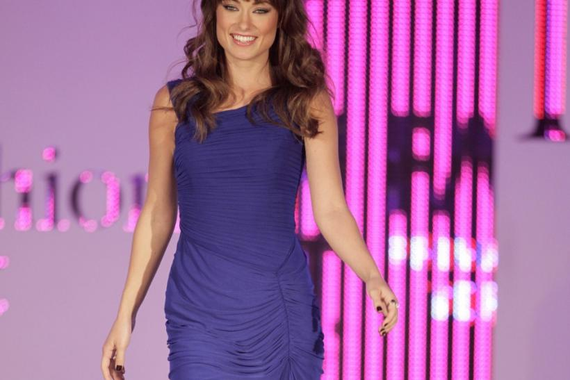 U.S. actress Olivia Wilde takes part in Fashion Fest in Mexico City