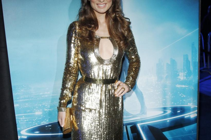 """Cast member Olivia Wilde poses at the world premiere of the film """"TRON: Legacy"""" in Hollywood, California"""