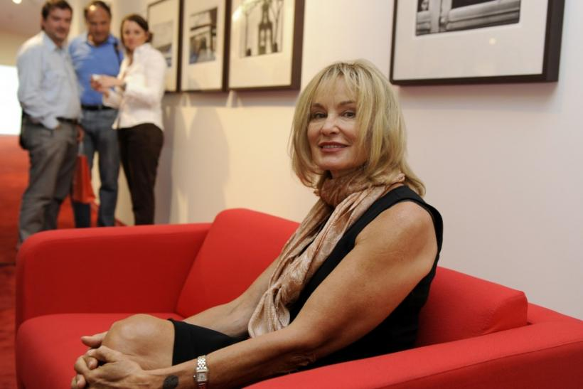 "U.S. actress and photographer Jessica Lange poses at her exhibition ""unseen"" at the Niemeyer Center of Aviles"