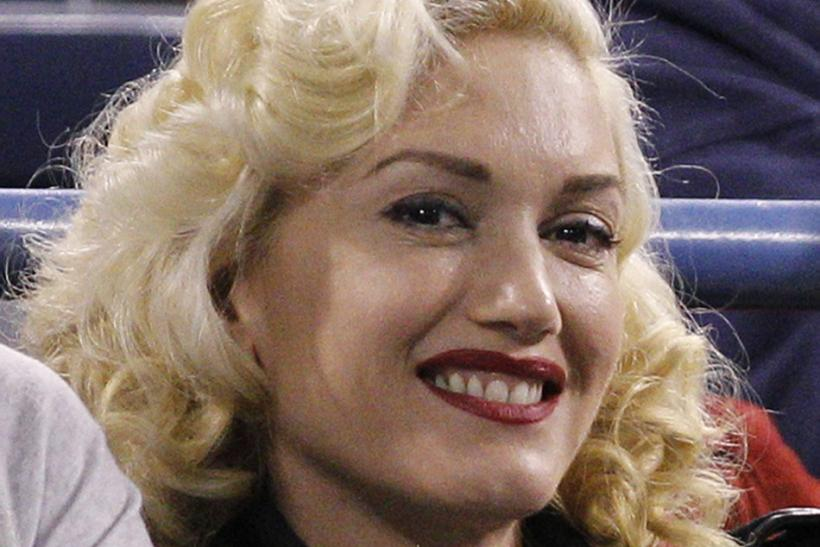No Doubt's singer Gwen Stefani attends the tennis match between Federer and Baghdatis at the Indian Wells ATP tennis tournament in Indian Wells