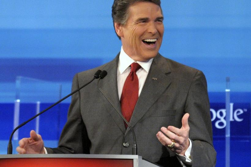 Rick Perry Ideological Purity