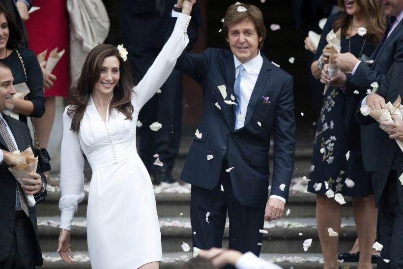 Paul McCartney Marries Nancy Shevell: Their Best Moments
