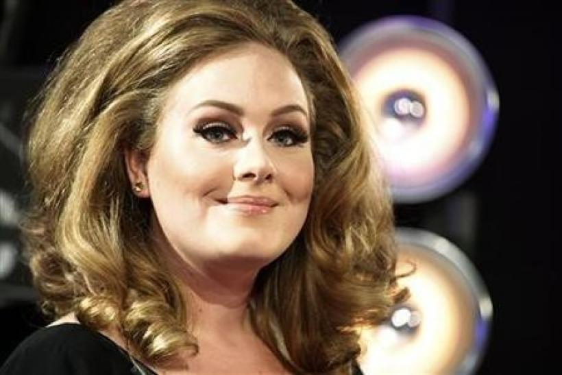 "Previously ranked fourth, Adele's ""21"" ranked at number eight in the album charts."