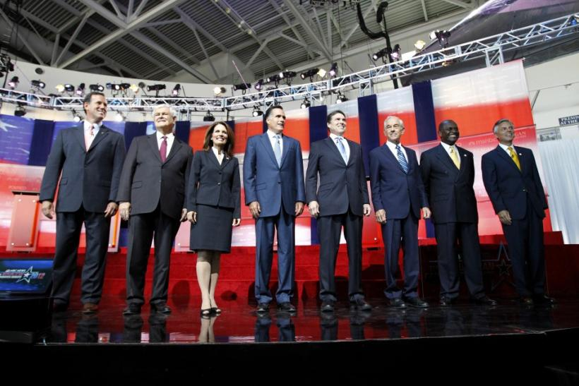 GOP Cadidates at Oct. 11 Debate