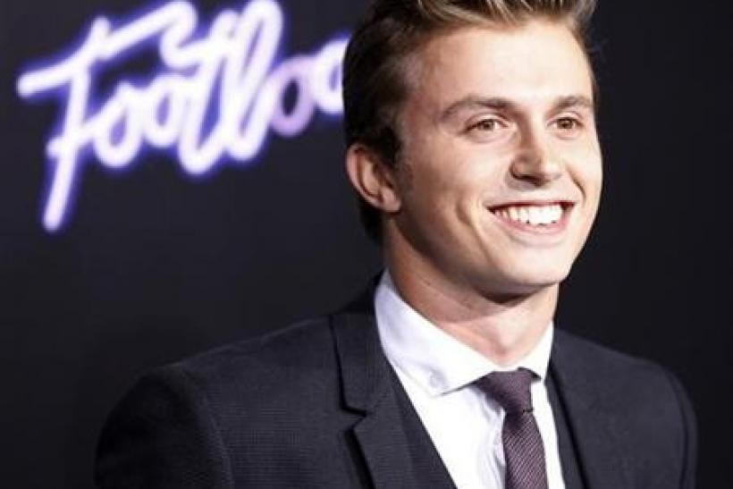 Cast member Kenny Wormald arrives at the premiere of the film ''Footloose'' in Los Angeles