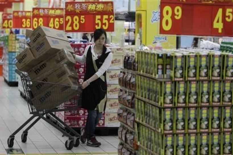 Overall Chinese inflation cooled, but food prices remain high