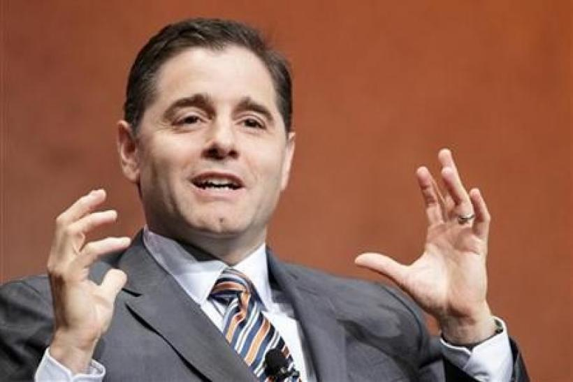 Federal Communication Commission Chairman Julius Genachowski speaks at the Cable Show in Chicago