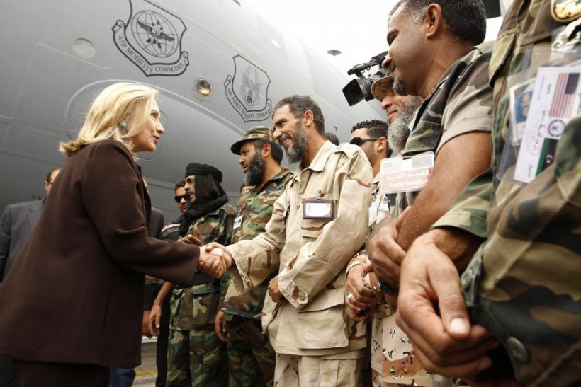 Clinton in Libya