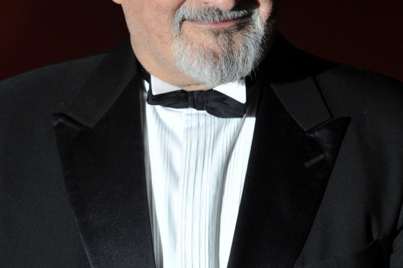 Author Salman Rushdie.
