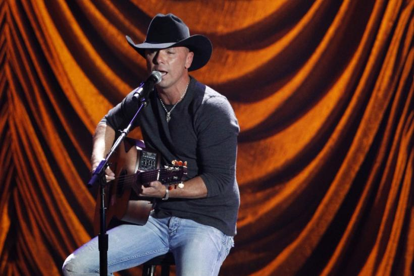 "Kenny Chesney performs during ""A Decade of Difference: A Concert Celebrating 10 Years of the William J. Clinton Foundation"" at the Hollywood Bowl in Hollywood, California"