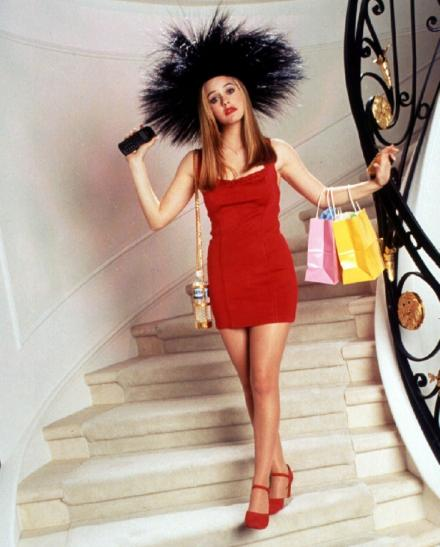 "Alicia Silverstone as Cher in ""Clueless"" (1995)"