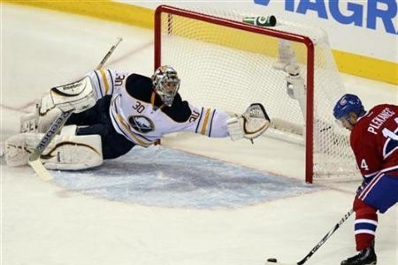 Miller rock solid as Sabres pierce Canadiens