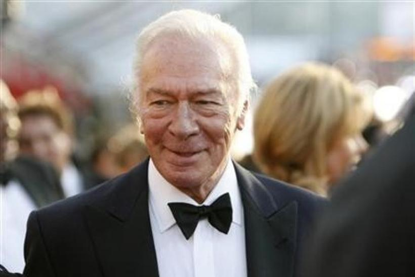 Actor Christopher Plummer from the film ''The Last Station'' arrives at the 16th annual Screen Actors Guild Awards in Los Angeles