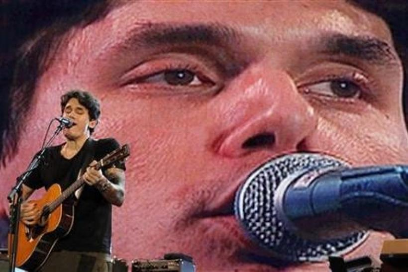 U.S. musician John Mayer performs at the Rock in Rio Music Festival in Lisbon