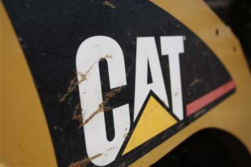 Caterpillar, one of the many U.S. corporations to report stellar earnings recently