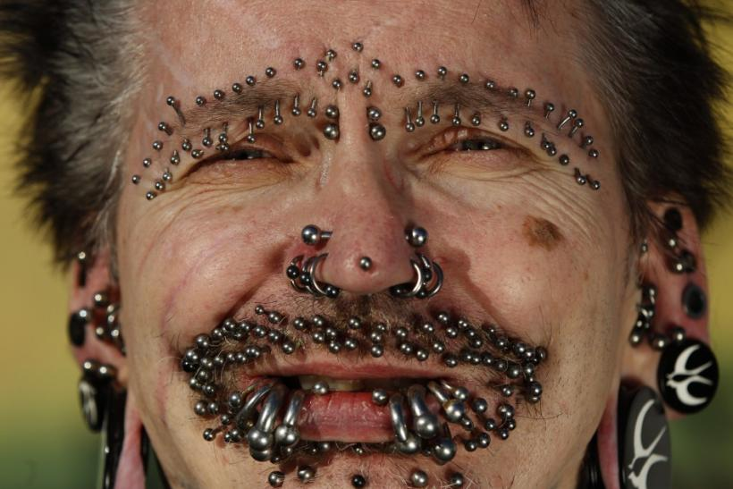 World's 'Most Pierced Man'