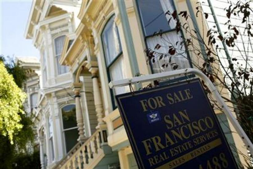 Home shown for sale in Haight Ashbury neighborhood in San Francisco