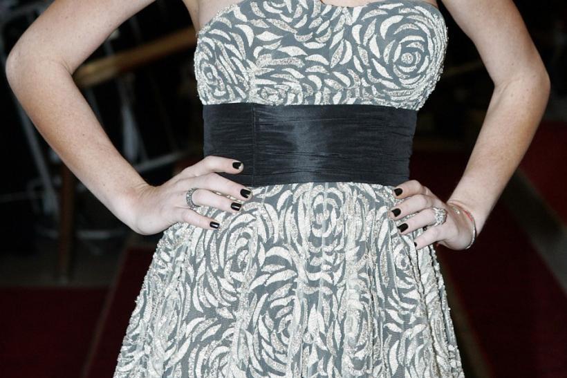 "Actress Lindsay Lohan arrives for the Metropolitan Museum of Art Costume Institute Benefit Gala ""Ang.."